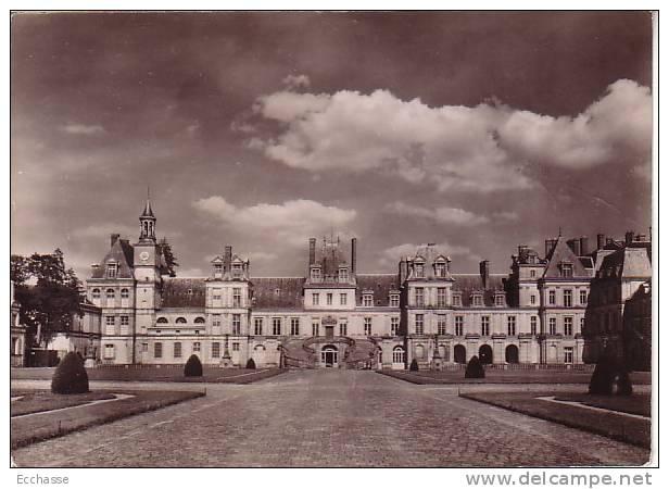 Fontainrebleau Le Chateau La Cour Des Adieus Ou Du Cheval Blanc - Fontainebleau