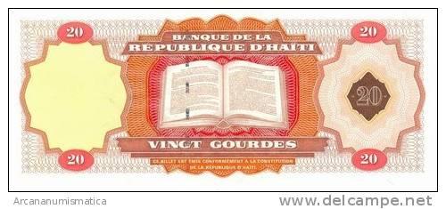 HAITI  20  GOURDES  2001(2007)  SC/UNC/PLANCHA    DL-5718k - Haiti