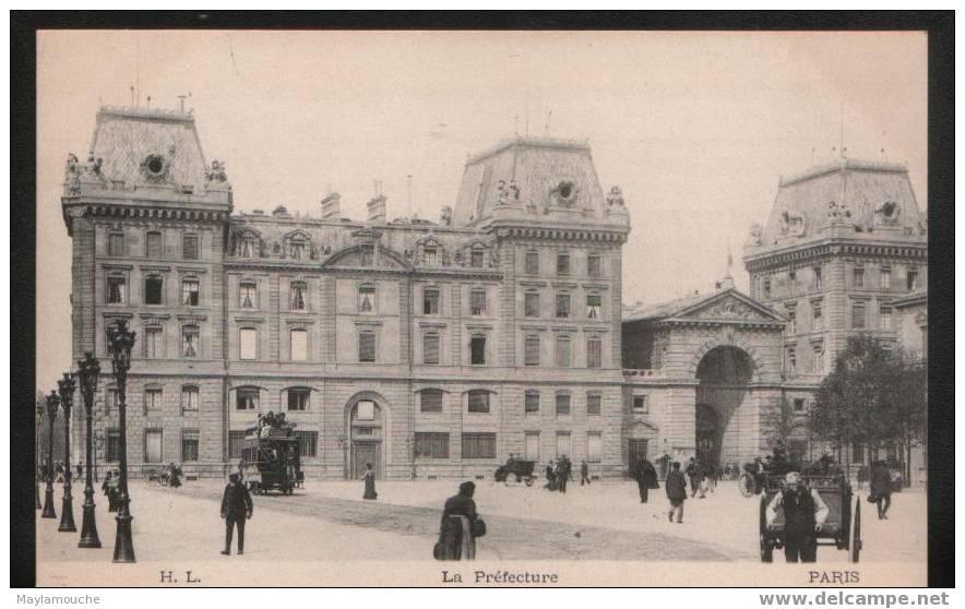 Paris  Prefecture - Non Classés