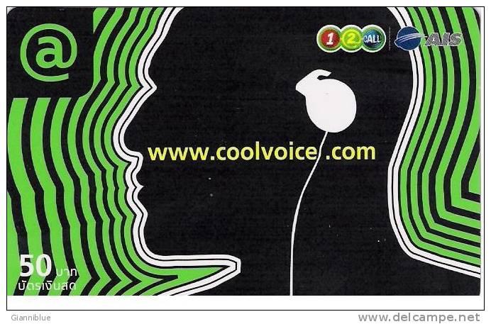 Thailand Prepaid Phonecard - Coolvoice - Thaïlande