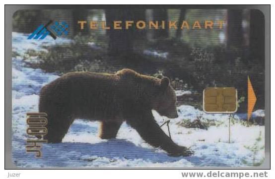 Estonia. Bear - Estonia