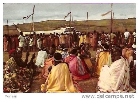 Congo Belge - Voyage Du Roi Au Congo - été 1955 (avec Publicité Chocolat Cote D'Or) - Congo Belge - Autres