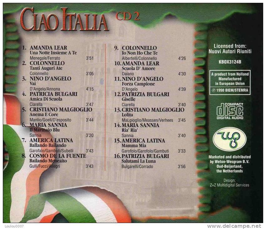Compilation  *** CIAO ITALIA  ***  ALBUM CD 2 - Autres - Musique Italienne