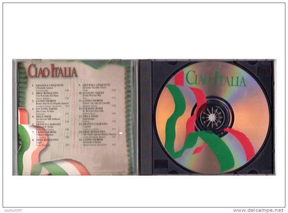 Compilation  *** CIAO ITALIA  ***  ALBUM CD 1 - Musique & Instruments