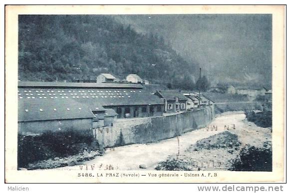 HAUTE SAVOIE-ref No 74524- La Praz - Vue Generale - Usines - - France
