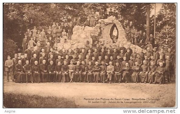 BELGIQUE- Ref No 337-noviciat Des Pretres Du Sacre Coeur-brugelette -jubile De La Congregation - Bon Etat - Brugelette