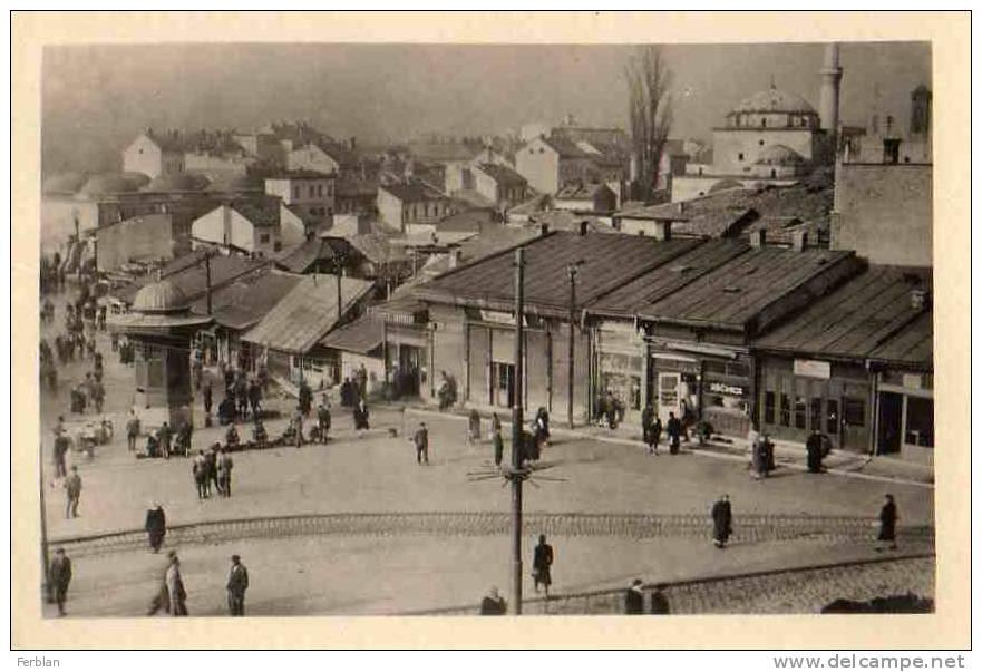 EUROPE. BOSNIE HERZEGOVINE. SARAJEVO. The Bash Tsarhie. - Bosnie-Herzegovine