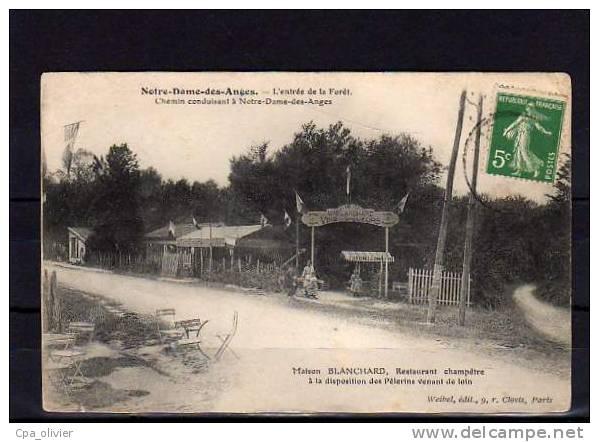 93 CLICHY SOUS BOIS Notre Dame Des Anges, Maison Blanchard, Restaurant Champetre, Foret De Bondy, Ed Weibel, 190? - Clichy Sous Bois