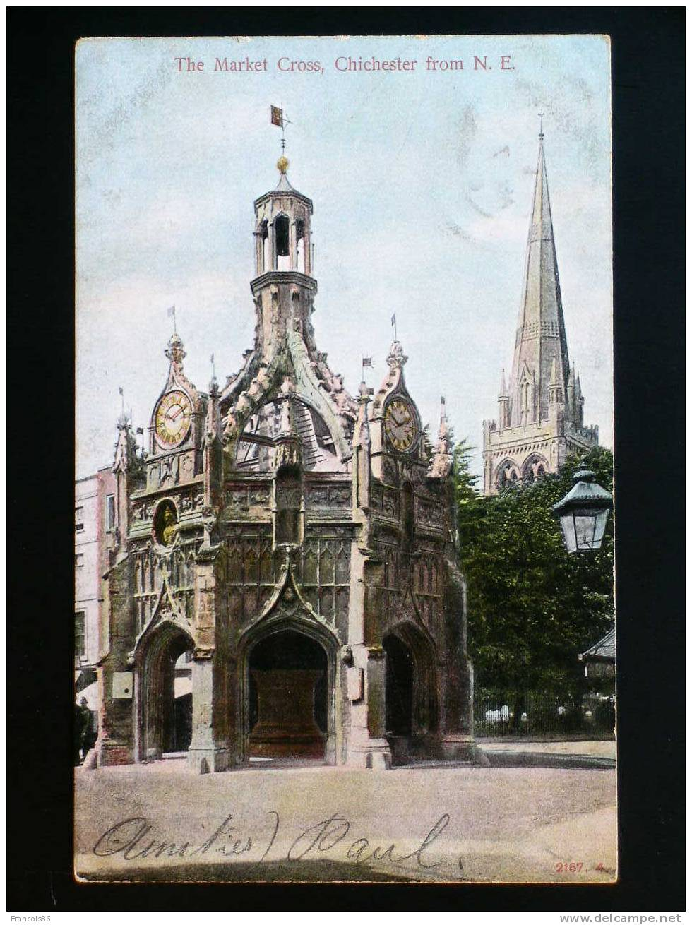 Chichester - The Market Cross - 1905 - Chichester