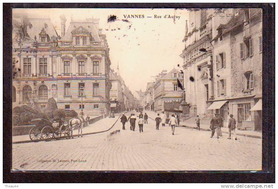 ¤ VANNES - Rue D'auray - Calèche - Boulangerie LE STRAT ¤ - Vannes
