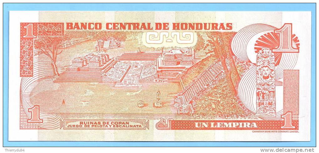 Honduras 1 Lempira 2004 UNC Uncirculated Neuf Lempiras Lampira Lampiras Centavo Centavos Cent - Honduras