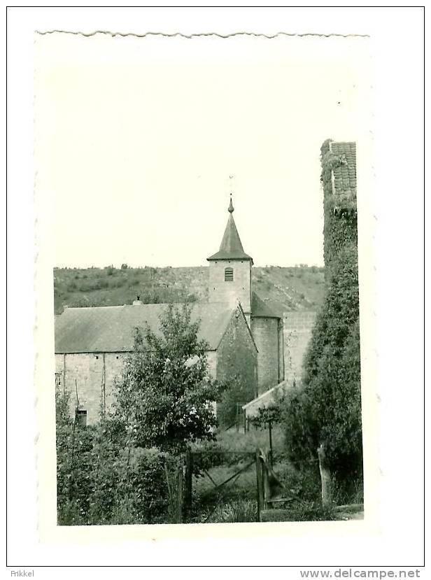 Originele Foto Photo Sosoye Kerk Eglise 1950 (6x9cm) - Lieux