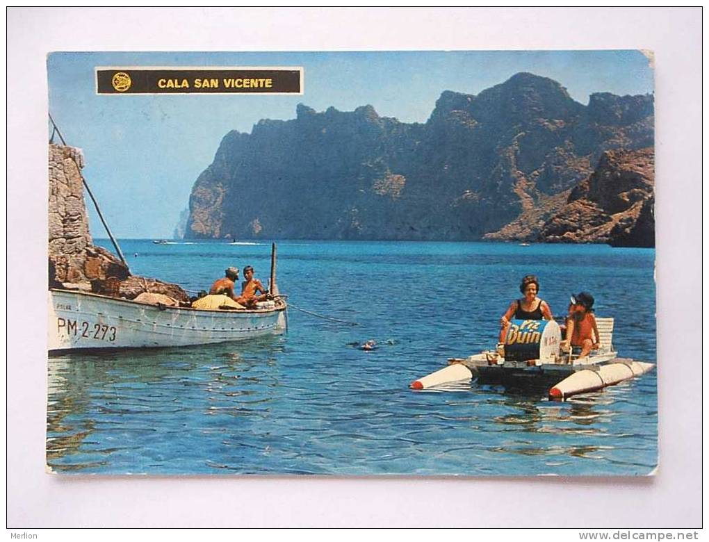 España - MALLORCA - Cala San Vicente  Cca  1970´s    F      D23806 - Mallorca