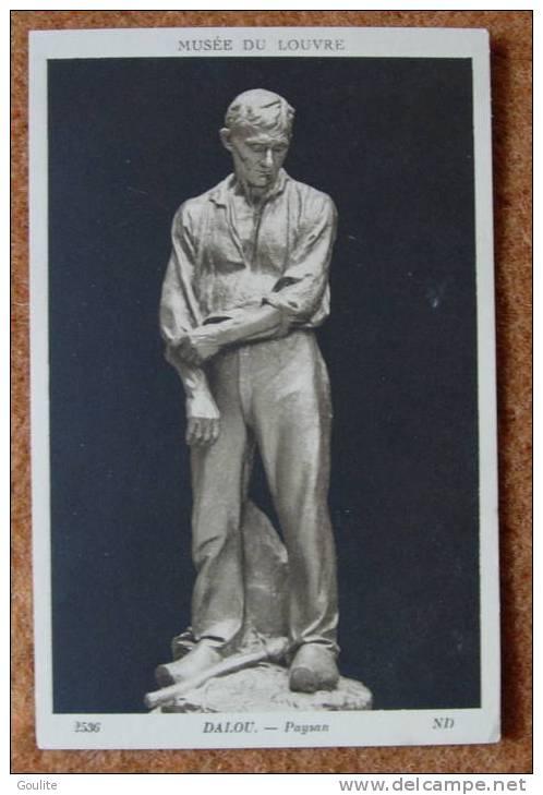Louvre - Musée Du Louvre - Sculpture  De Dalou - Paysan - Sculptures