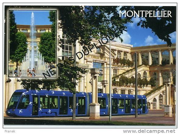 CP34133 - MONTPELLIER - Antigone - Le Tramway - Ligne 1 - Montpellier
