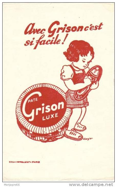 Buvard Pate GRISON Luxe - Buvards, Protège-cahiers Illustrés