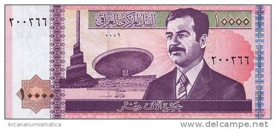 IRAK  10.000  DINARES  2.002  KM#89   PLANCHA/UNC/SC    DL-6220 - Iraq