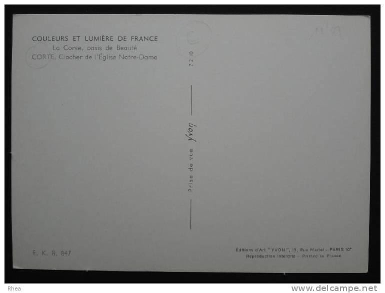 20 Corte Eglise    D20D  C20096C RH023875 - Corte