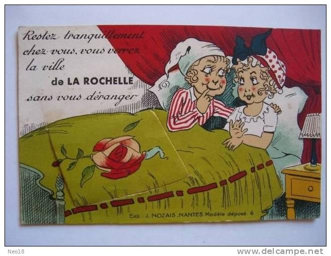Carte Depliant J Nozais - La Rochelle