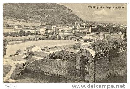 ITALIE - Ventimiglia - Borgo S. Agostino - Imperia