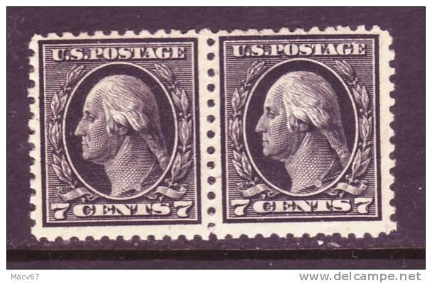 U.S. 507 X 2   *   1917-19 Issue  Perf 11  No Wmk. - Unused Stamps