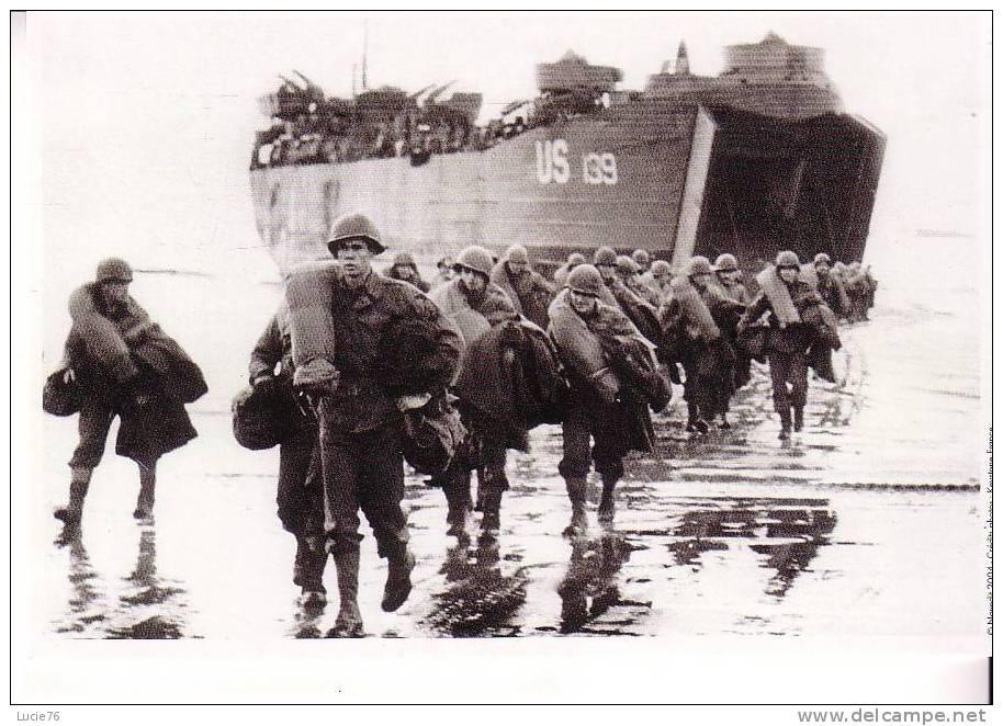 Groupe De SOLDATS -    Le DEBARQUEMENT     - N°  5 - Guerre 1939-45