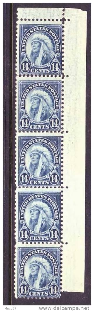 U.S. 695 X 5  **    1931 Issue  Perf 11 X 10 1/2 - Verenigde Staten