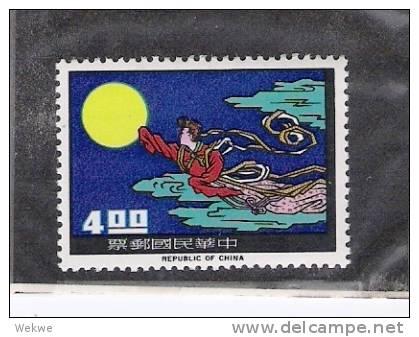 Mtai014/ TAIWAN -  Madam Chang. Mondflug. Mi. 1966 Nr. 608 ** MNH - 1945-... Republiek China