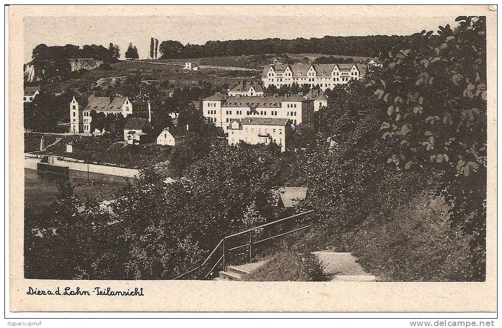 Carte Postale :  Diera. D Lahn Teilansichi ( Verlag) - Diez