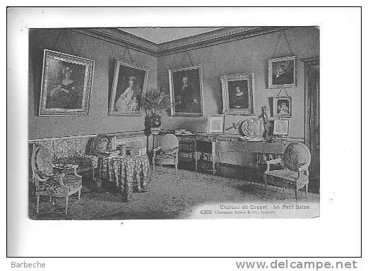 Château De Coppet .- Le Petit Salon   . 1920.A - VD Waadt