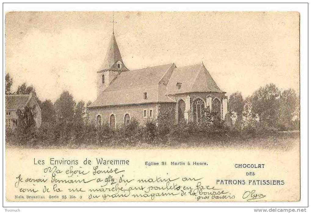 """C4792 - Les Environs De Waremme - Eglise St Martin à Heers """"Nels Série 35 N° 9) - Heers"""