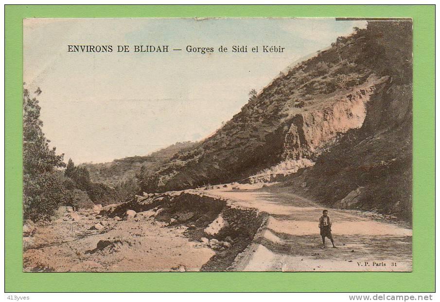 Environs De Blidah : Gorges De Sidi El Kébir * - Blida