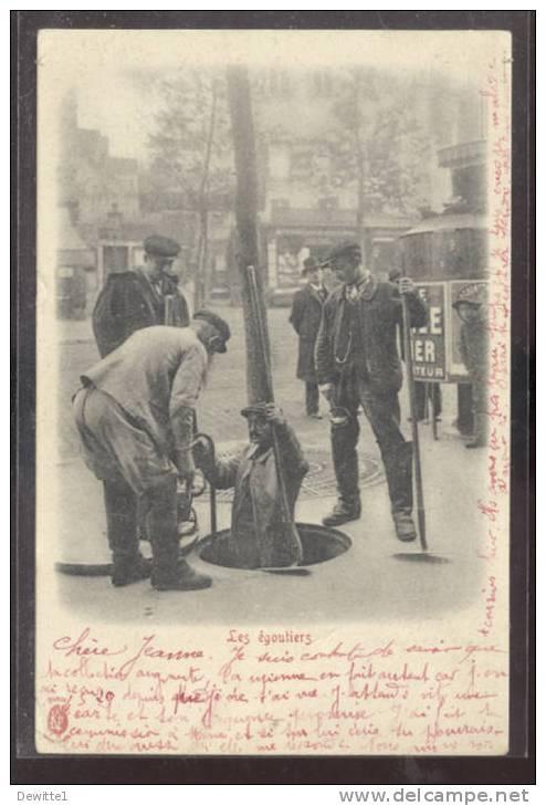 Metier   LES EGOUTIERS - Petits Métiers à Paris