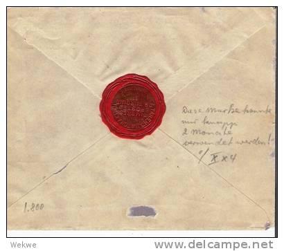 Rle001/ Brief,  Einschreiben N. Schweden Mit 100Piaster Ex Constantinople , Cover, Letter, Lettre) - Levant