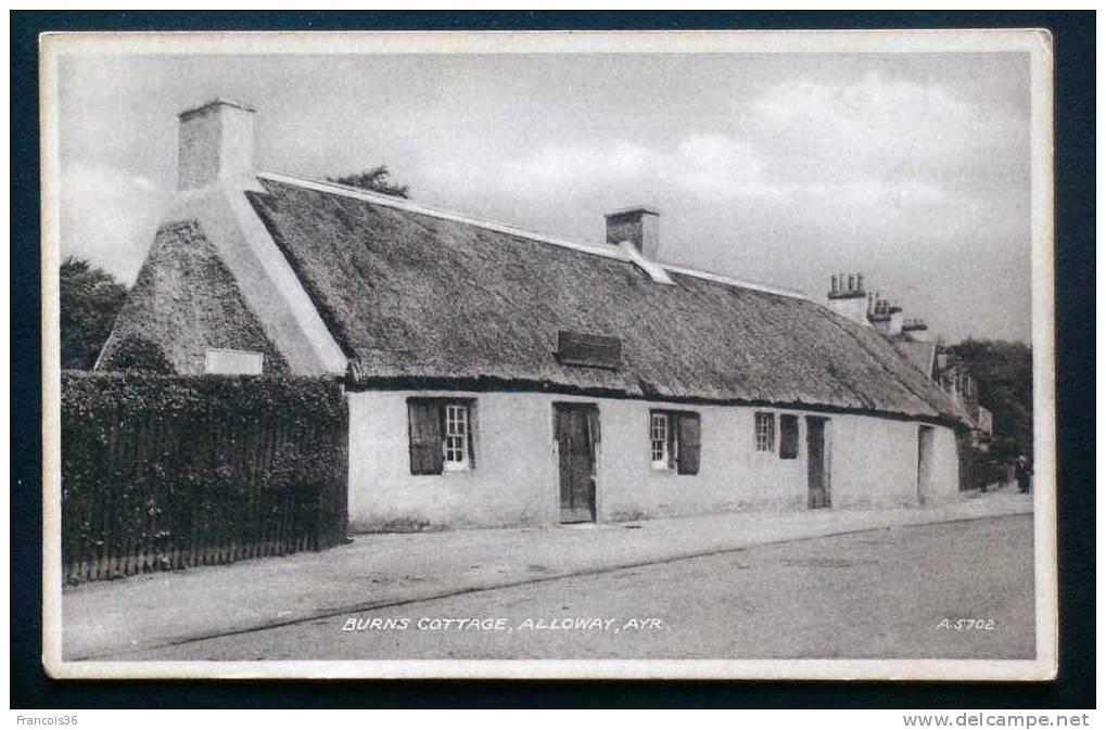 ALLOWAY - AYR - Burns Cottage - - Ayrshire