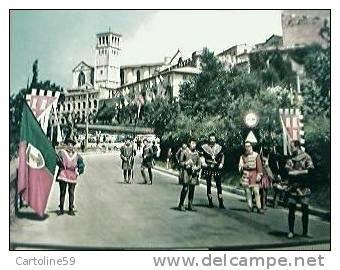ASSISI CALENDAMAGGIO FIGURANTI VB1968 L3948 - Costumi