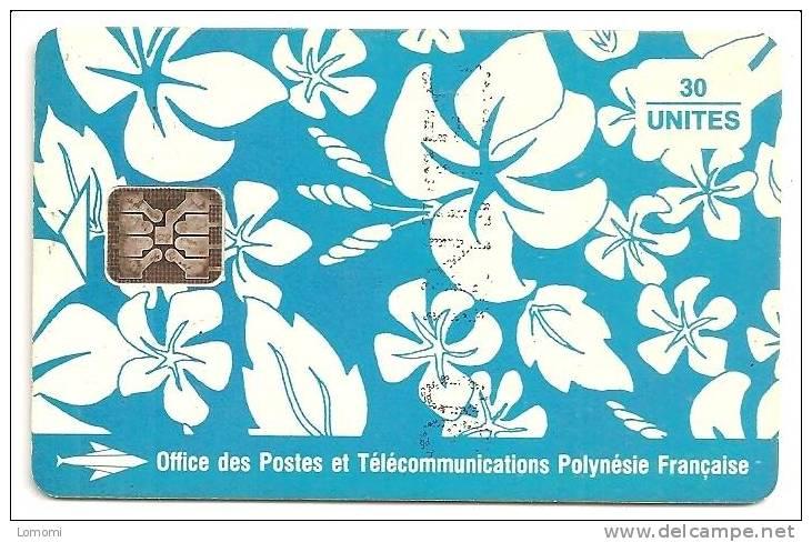 Polynésie Française    -  Année 1993  .  RARE  . 2 Scan.. - French Polynesia