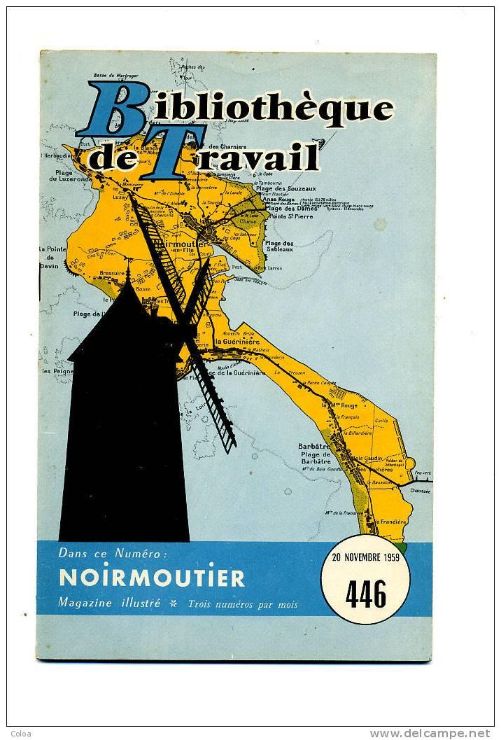 L'île De Noirmoutier 1959 - Géographie