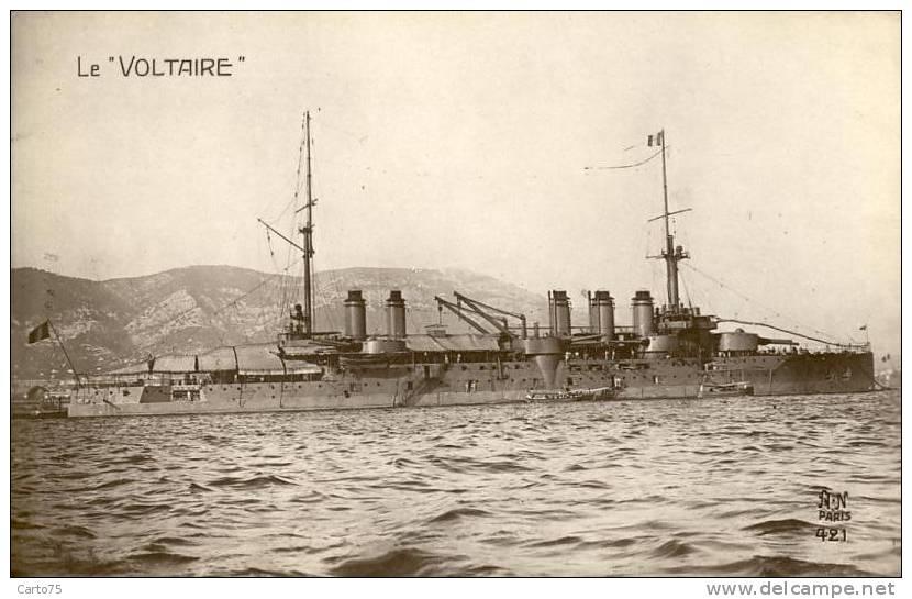 BATEAUX - Le Voltaire - Militaria - Guerra
