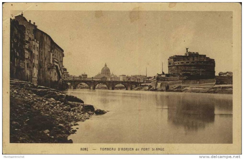 Roma. Italie. Rome. Tombeau D´ Adrien Dit Fort St Ange. - Roma (Rome)