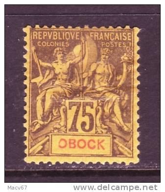 Obock  43    * - Unused Stamps