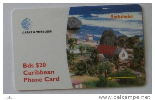 BATHSHEBA  (  Barbados - Code 263CBDG  ) - Barbades