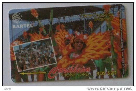 CARNIVAL - Crop Over 95.  (  Barbados - Code 250CBDC  ) *** Carnaval - Karneval - Carnevale * - Barbades