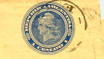 Postal Stationary Wrapper Columbus Argentini To Belgium - Enteros Postales