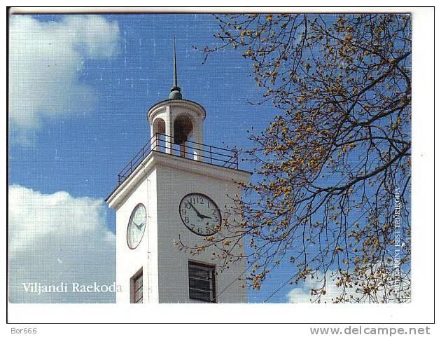 GOOD ESTONIA Postcard - VILJANDI City Hall - Estonia