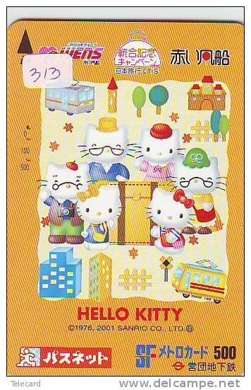 HELLO KITTY (313) KAT CAT CHAT Katze TK Japan - BD