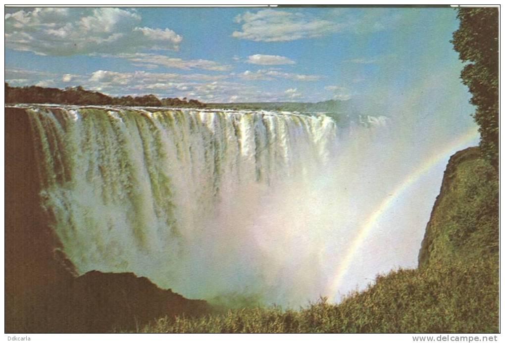 Zimbabwe - Rhodesia - Main Falls - Victoria Falls - Zimbabwe