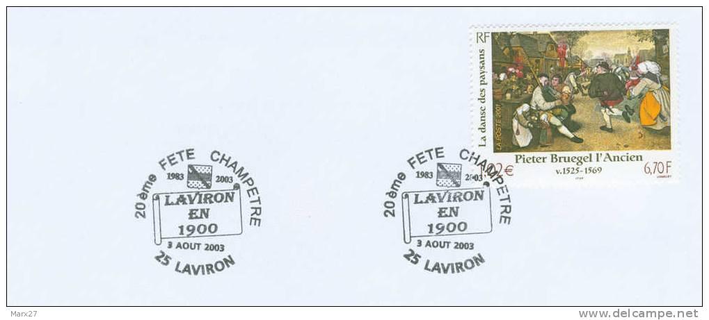 Cat. Agriculture : Laviron (Doubs) 20è Fête Champêtre Laviron En 1900 (3 Août 2003) - Agriculture