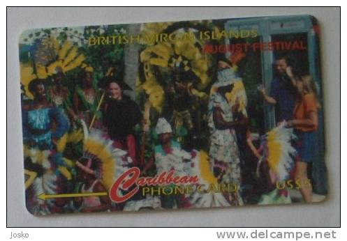 CARNIVAL - August Festival  (  British Virgin Islands - Code 143CBVG  ) *** Carnaval - Karneval - Carnevale * - Vierges (îles)