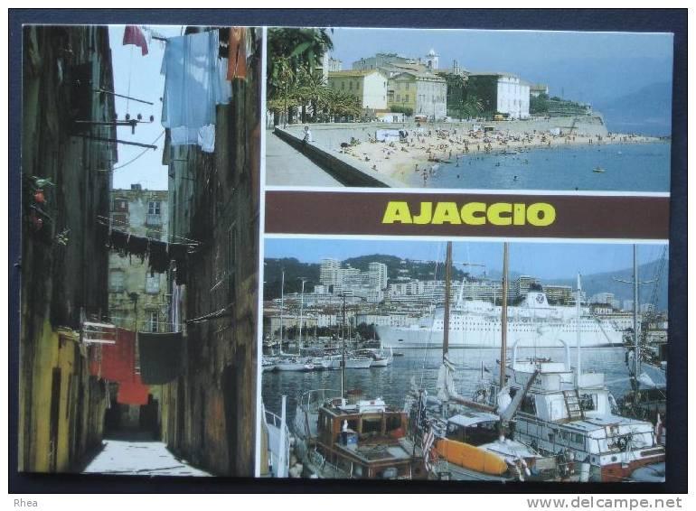 20 A Ajaccio Multi Vue    D20D  C20004C RH049851 - Ajaccio